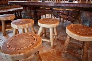 Stools from sections